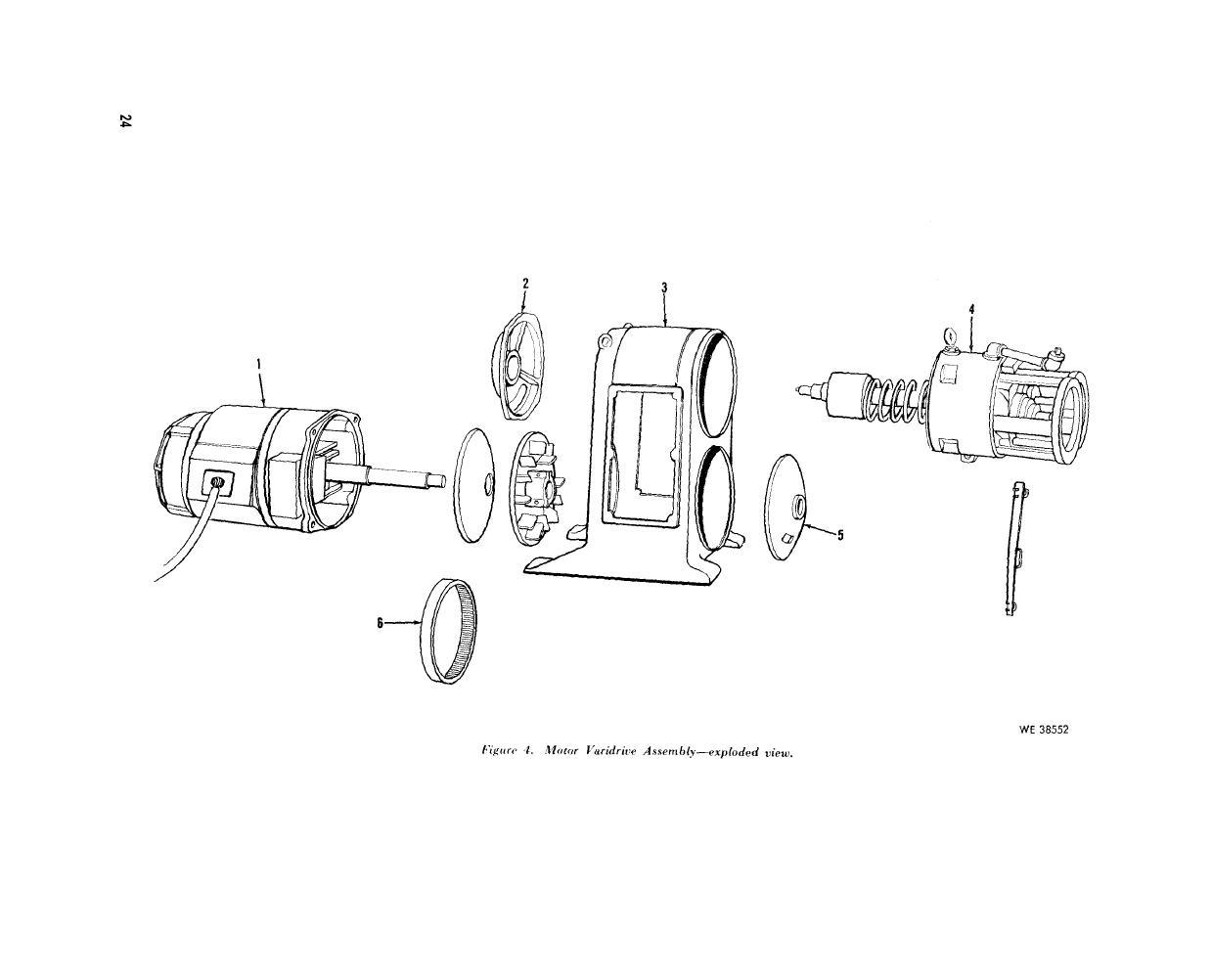 figure 4  motor varidrive assembly